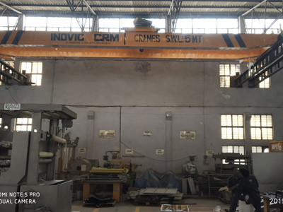 Double Girder EOT Crane, Goliath Gantry Cranes Supplier