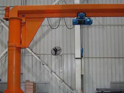 Free Standing Jib Crane, wire Rope Hoist