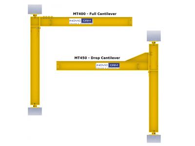 Mast type Jib Crane, Flame Proof Electric Wire Rope Hoists
