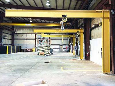 Mast type Jib Crane, Goods Lift Manufacturer
