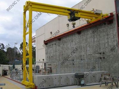 Semi Goliath Crane, Goods Lift Supplier