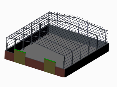 Shed Fabrication exporter
