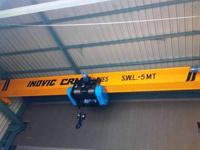 Single Girder EOT Crane, Industrial Hoist Crane Manufacturer