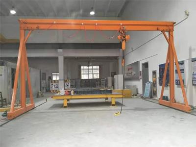 Track Mounted Gantries-, Low Head Room Wire Hoist