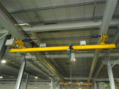 UNDER SLUNG, Flame Proof Crane Manufacturer