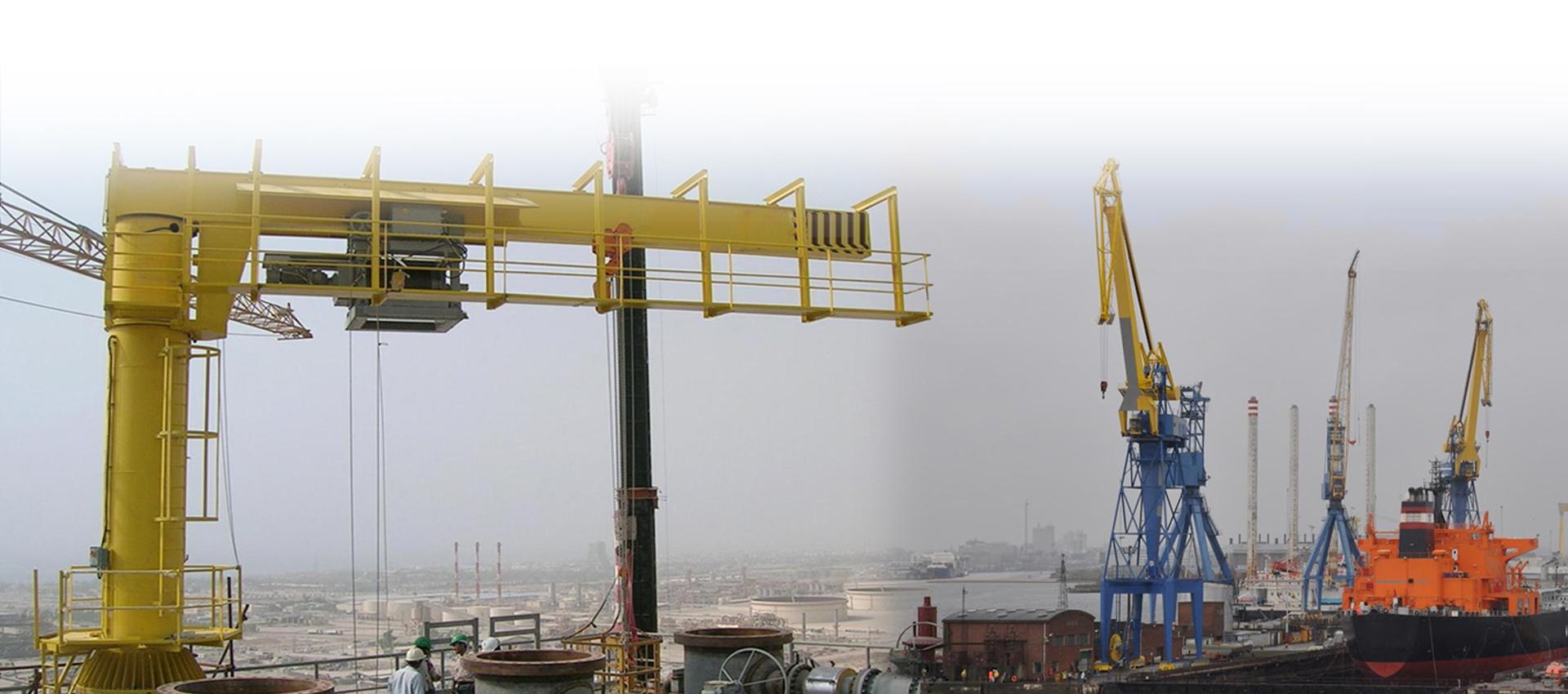 banner, Jib Crane Supplier in India