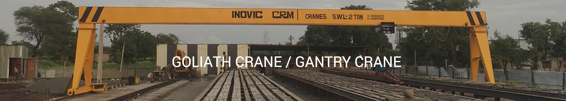 banner, Goliath Gantry Cranes Supplier, exporter